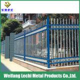 Pas de décoloration de clôtures en acier galvanisé pour la sécurité