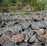 Cestini di Gabion e casella di Gabion utilizzata per protezione del suolo e dell'acqua