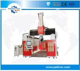 木かアルミニウムまたは機械装置5の軸線CNCのルーター機械を作るFoam/EPS型