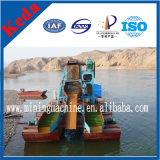 판매를 위한 물통 유형 금 흡입 모래 준설선 배