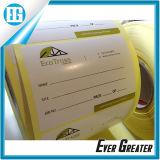 Custom white циркуляр водонепроницаемый цена печати этикеток стойки стабилизатора поперечной устойчивости