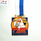 Медаль легирующего металла цинка Customed для бежать