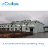 Настраиваемые холодного хранения для больших размеров замороженные продукты переработки на заводе