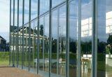 Mur rideau invisible en aluminium (CL-C1002)