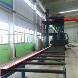 Transportador de rodillos de la rueda de las estructuras de acero Granallado Precio de la máquina