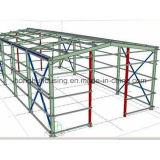 El taller de acero ligero de alta resistencia del edificio de Strcture vertió el almacén prefabricado de la casa