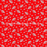 La impresión de Tricot de poliéster tejido colchón