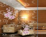 L'acide de 5mm gravé verre décoratif d'encre
