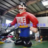 Affichage extérieur modèle Pirate gonflables géants