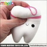Venda a quente PU Squishy dente aperte o estresse aumenta lenta Toy