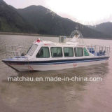 26 Persons Fiberglass Material Totally Enclosed Yacht