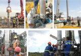 SS316L y perforado el tubo de drenaje de aguas subterráneas y
