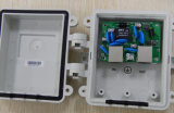Protector de oleada impermeable de Ethernet 1000Mbps Poe de la cubierta plástica