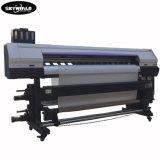 1,8M Impressora Têxtil digital de grande formato com dois 5113 Cabeça de Impressão