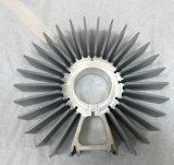 Теплоотводы штрангя-прессовани формы солнцецвета алюминиевые