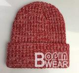 Хизер Красный Beanie основной вязки Red Hat зимой Red Hat акриловый Custom Вязки Вязки Beanie Red Hat POM