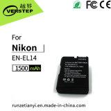 1500mAh de navulbare Batterij van de Camera van de Batterij Digitale voor Nikon Engels-EL14 Coolpix P7000