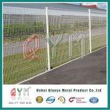 Le PVC a enduit les panneaux soudés galvanisés de maillage de soudure de frontière de sécurité de treillis métallique