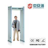 Affichage LCD numérique 20 Niveau de sécurité du détecteur de métal avec fréquence de travail