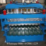 Machine de panneau de toit de Matel de Double couche de structure métallique