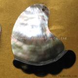 Natürlicher schwarzer Shell-Großhandelsverschluß knöpft hängende DIY Schmucksachen zusätzlich