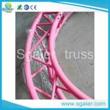 Triangle Circle Pink Truss para casar para The Bride and Groom
