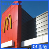 広告装飾のための良質のアルミニウム合成のパネル