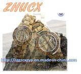 Horloge van het Metaal van het Horloge van de hoogste-kwaliteit het Houten CX-Ww01