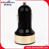 Gadget de telefone móvel 2 Adaptador USB duplo do carregador de carro de Metal