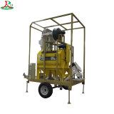 Mobile usine de nettoyage de semences de haricots à grain