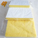 Белое одеяло плитки потолка стеклянной ваты волокна фольги PVC