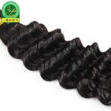 Großhandelspreis-Jungfrau indischer menschlicher natürlicher Remy Haar-Einschlagfaden