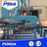 Convoyeur à rouleaux grenaillage de tuyaux en acier Prix de la machine de nettoyage