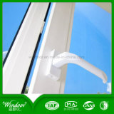 Color blanco abierto fuera de la ventana de PVC de diseño de la ventana de metal