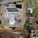 Lumière de mur de nuit de système de détecteur solaire de DEL 9W dans le jardin