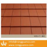 Красный цвет крыши Плитка Доказательство воды на крышу Villa (R1-W55)