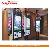 OEM de Vloer die van 43 Duim LCD Signage van de Vertoning de Digitale Kiosk van de Betaling van de Bankkaart van de Rekening van de Zelfbediening van de Kiosk van de Informatie van het Scherm van de Aanraking van de Reclame Interactieve bevindt zich