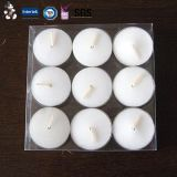Elegantes Design Popular New Personalized Glitter Tealight Candle mit Highquality