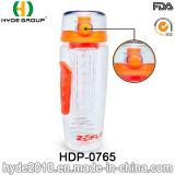 2016 Novo Produto Portátil garrafa de plástico de frutas Infuser Água (HDP-0765)