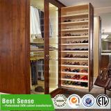 Прогулка изготовленный на заказ мебели Гуанчжоу самомоднейшая деревянная в шкафе