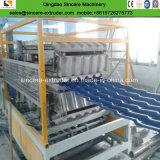 Vitrage PVC recyclé ASA Tuile ondulé des machines