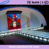 P3 P6 de alquiler de interior portátil con pantalla LED de 576x576 mm Die-Casting Gabinete y de imanes para servicio delantero