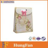 Bolso de encargo elegante del regalo del papel de la insignia/bolso de compras/bolso del conjunto