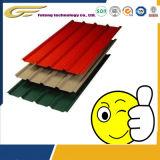 Plaat van het Staal van het Aluminium van de Structuur van het Staal van de bouw de Zink Gedrukte