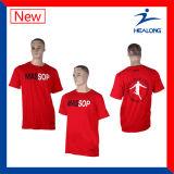 Pop-up Healong Engrenagem de vestuário de boa qualidade Serigrafia homens T-shirts