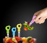 Artículos promocionales / regalo de Navidad para el cuchillo plegable de cerámica / tenedores / conjunto de herramientas de frutas