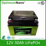 12V 30ah de ZonneBatterij van het Ijzer LiFePO4 van het Lithium met PCM
