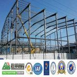 Magazzino prefabbricato della costruzione del blocco per grafici d'acciaio nel Venezuela