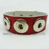 Мягкие кожаные стопорное кнопку браслеты многоцветные моды Аксессуары Ювелирные изделия