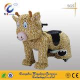Het muntstuk stelde Ritten van het Stuk speelgoed van de Pluche van het Vermaak de Dierlijke van Wangdong in werking